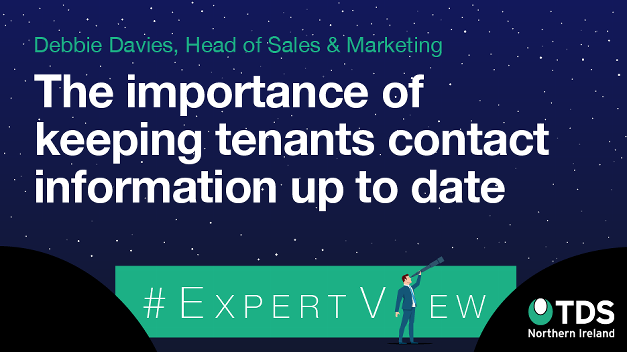 #ExpertView: The importance of keeping tenants' contact information up-to-date