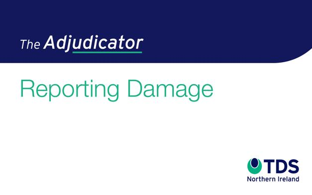 The Adjudicator - Reporting Damage