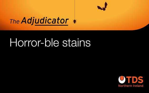 The Adjudicator: Horror-ble stains