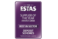 TDS Northern Ireland wins Best Deposit Scheme at The ESTAS