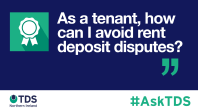 #AskTDS As a tenant, how can I avoid rent deposit disputes?